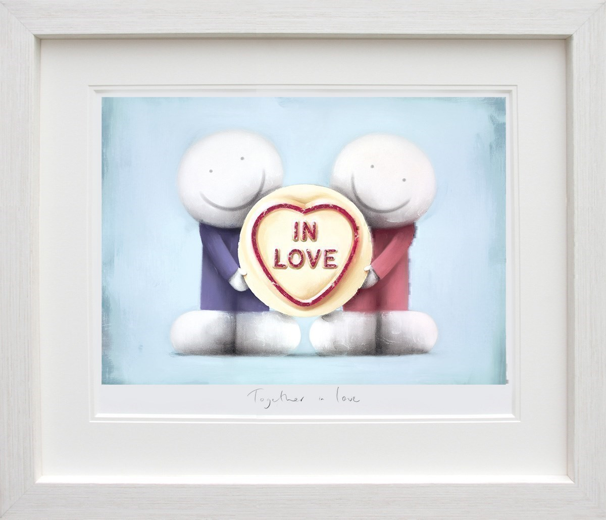 Together in Love by Doug Hyde - Limited Edition on Paper sized 26x18 inches. Available from Whitewall Galleries